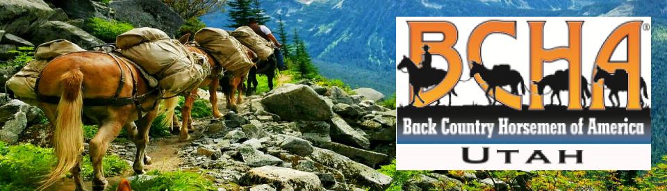 Back Country Horsemen of Utah Logo