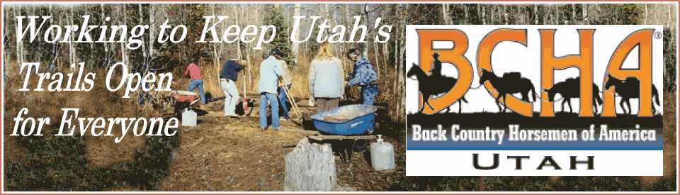 Back Country Horsemen of Utah Logo