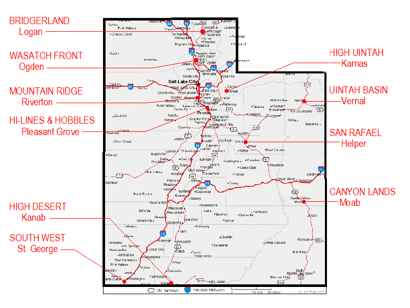 Utah Horse Trails - Compiled by members of the Back Country ...