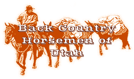 Back Country Horsemen of Utah Small Logo.